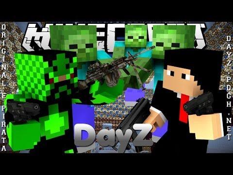 Divulgação de Server Minecraft 1.6.4 DayZ [Pirata e Original]
