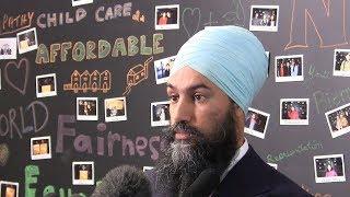 NDP Leader Jagmeet Singh on SNC-Lavalin