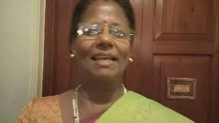 Bride's relative appreciating Chennai Event Anchors Nandhini and Thamizharasan and stalls at Mehndi