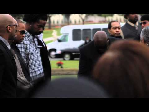 Nate Dogg Funeral 3 26 11 We Will Always Love Him And His Music. video