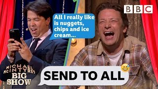 Send To All with Jamie Oliver - Michael McIntyre's Big Show: Series 2 Episode 5 - BBC One
