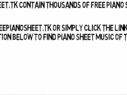 Ping Pong (Original Mix) - Armin van Buuren (Piano Sheet Music)