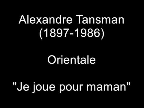 Aleksander Tansman - Deux Chansons Populaires I Plany