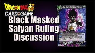 [DBS] Dark Power Black Masked Saiyan Discussion