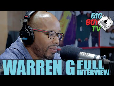 Warren G Talks Straight Outta Compton, Remembering Nate Dogg, And More! (Full Interview) | BigBoyTV