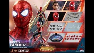 Đồ chơi siêu nhân | Mô hình lắp ráp Iron Spider Man trong Avenger Infinity War