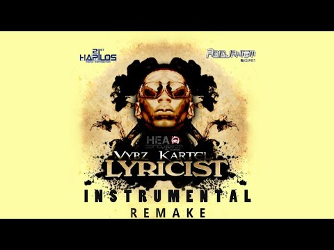 Vybz Kartel - Lyricist Riddim Instrumental video