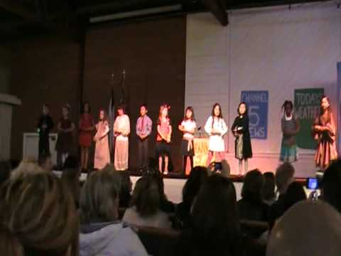 First Graders of Packinghouse Christian Academy - 02/12/2010