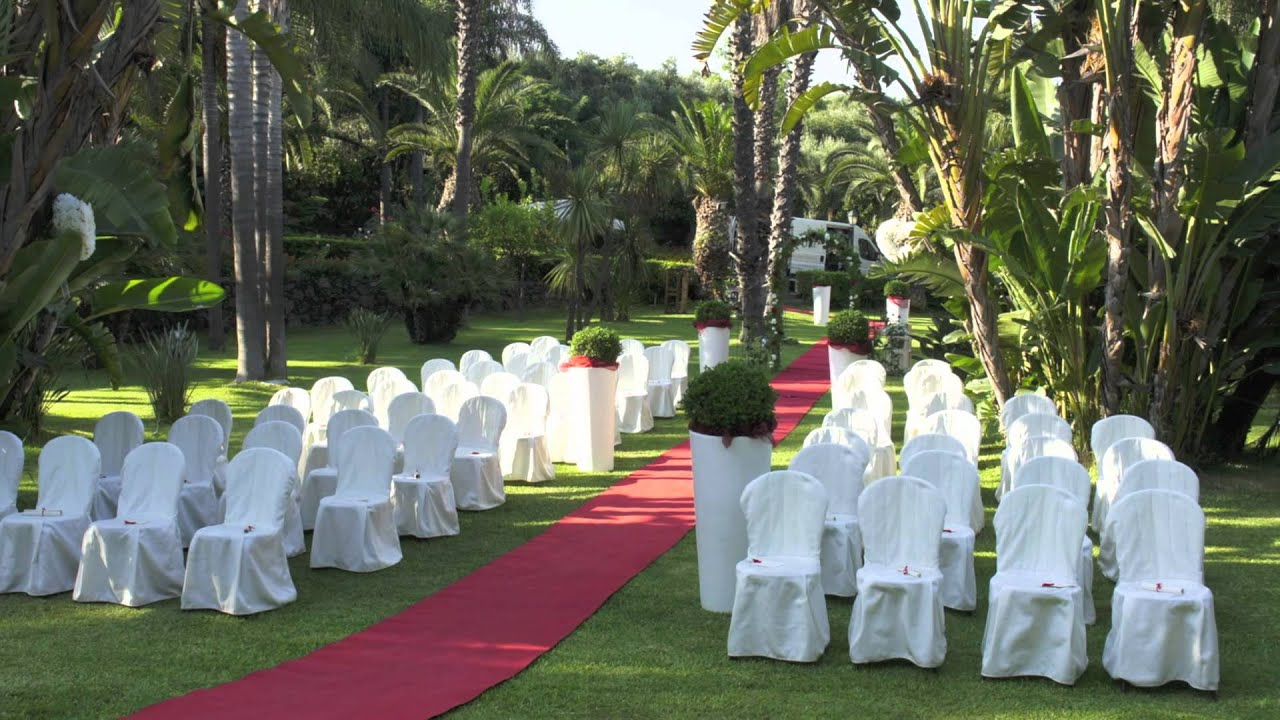 Parco dafne location nozze catania villa by - Giardini di villa fago ...