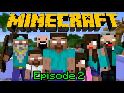 If Herobrine had a Family - Minecraft Part 2