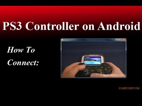 How to Connect a PS3 Controller to your Android Phone EASY!