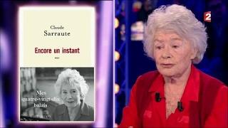 Claude Sarraute - On n'est pas couché 21 janvier 2017 #ONPC