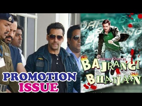 Salman Khan's cases will affect his film 'Bajrangi Bhaijaan's promotions | Bollywood News