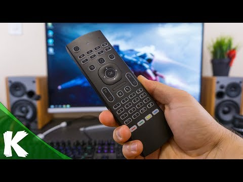 MX3-L - The Ultimate Wireless Air Mouse Keyboard TV BOX Remote Control