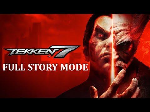 Tekken 7 - Full Story Mode Movie (All Cutscenes)