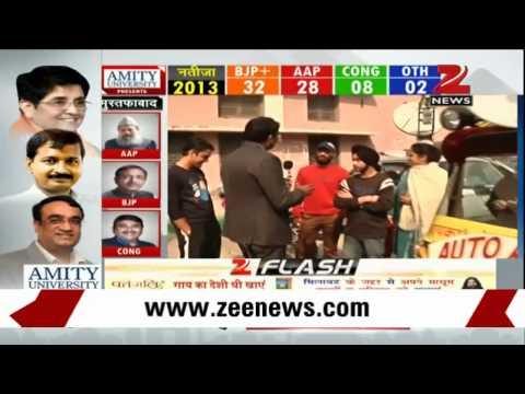 Delhi Assembly polls: Voter turnout at Lodhi road