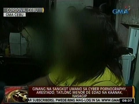 24Oras: Ginang na sangkot umano sa cyber pornography, arestado sa Cebu