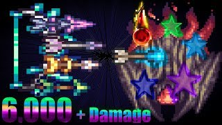 terraria crazy buffed up Phangasm vs Supreme Calamitas