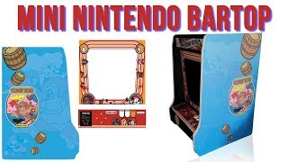Mini Nintendo Arcade Galaga Bartop First Look