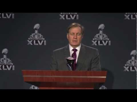 Bill Belichick on Strategies for Winning Super Bowl 46 - 101ESPN
