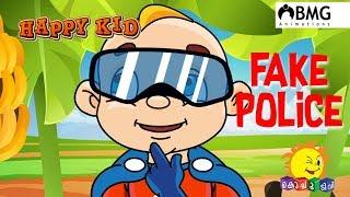 Happy Kid | Fake Police | Episode 101 | Kochu TV | Malayalam