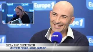 """Nicolas Canteloup - Copé : """"Taubira ment en français, en créole, dans toutes les langues !"""""""