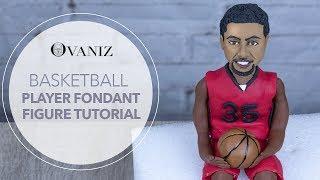 Fondant basketball | Basketball cake toppers | Basketball cake pan | basketball theme cake players