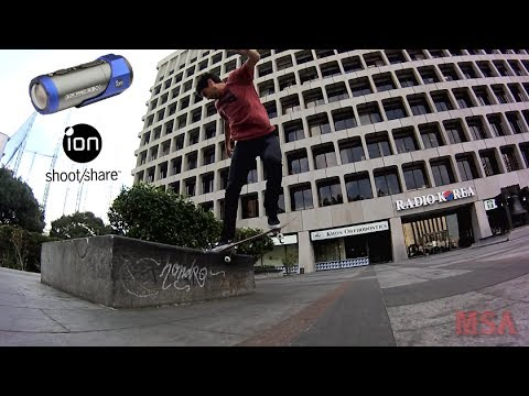 Danny Fuenzalida ion camera line at jkwon plaza