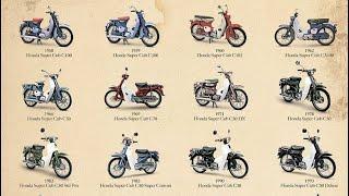 History | Sejarah Honda Cub 1958 〜 2017