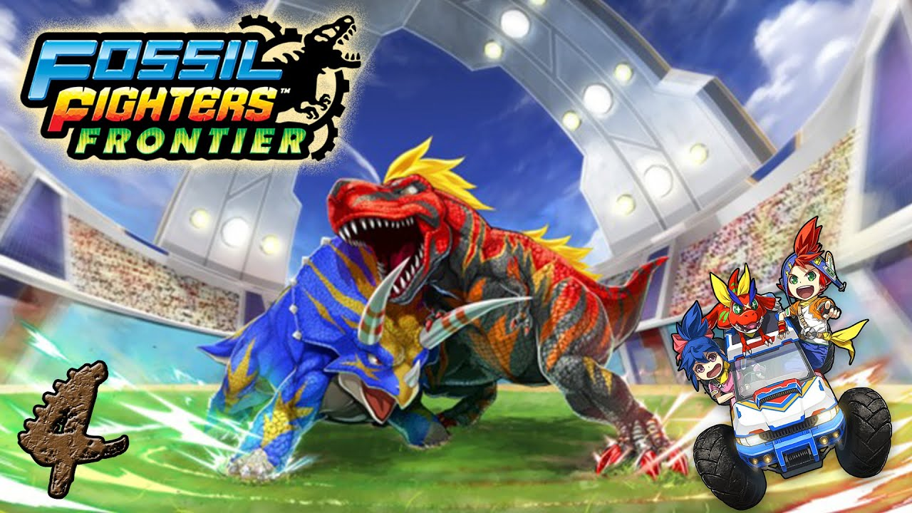 Fossil Fighters Frontier Fossil Fighters Frontier Ep:4