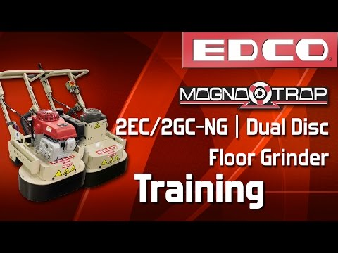 Magna-Trap® Dual Disc Concrete Grinder Training Video