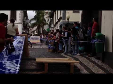 Accident Downtown Funchal - FreeRide Mountain Biking Madeira 2014