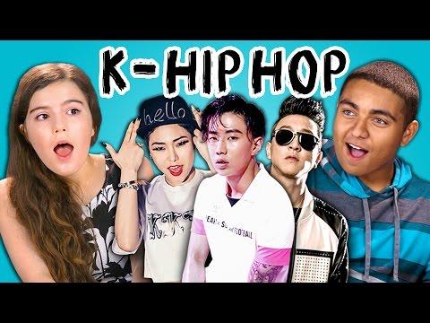 TEENS REACT TO K-HIP HOP (Jay Park, Cheetah, Eung Freestyle)