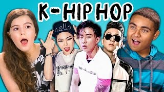 TEENS REACT TO K-HIP HOP (Jay Park, Cheetah, Eung Freestyle)