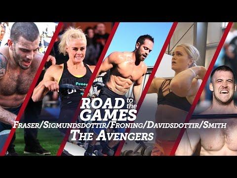 Road to the Games 16.04: Fraser / Sigmundsdottir / Froning / Davidsdottir / Smith