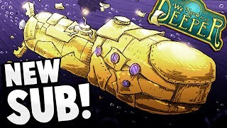 MASSIVE NEW SUBMARINE! Can We Go Even Deeper?! - The Poubelle Update - We Need to Go Deeper Gameplay