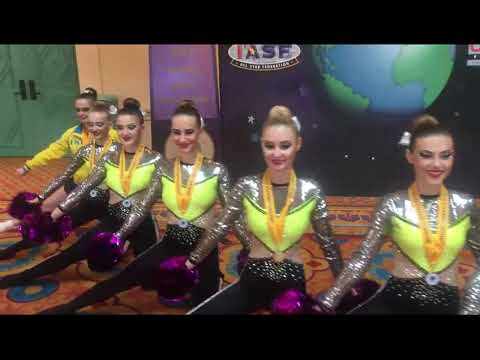 Чемпионат Мира по черлидингу 2017 The Dance Worlds Team CFU