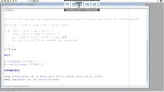 Gams - Tutorial programación lineal