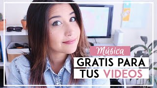 Música gratis para tus videos de Youtube y qué es el Copyright - Tips de Youtube - SONIA ALICIA