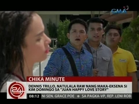 """24 Oras: Dennis Trillo, natulala raw nang maka-eksena si Kim Domingo sa """"Juan Happy Love Story"""""""