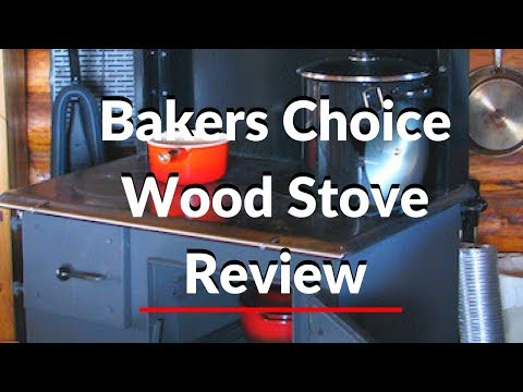 Review of Amish Built Bakers Choice Wood Cook Stove.