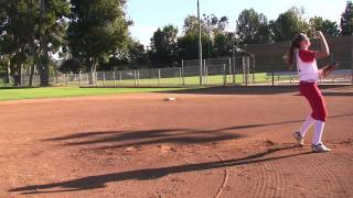 Veronika Gulvin Softball Skills