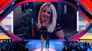 Message for Demi Lovato (Britney Spears, Simon Cowell & LA Reid) TCA 2012