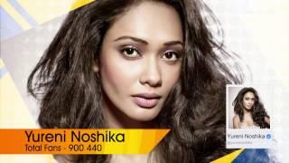 TOP 10 Celebrities in Sri Lanka