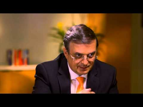 Jorge Ramos entrevista con Marcelo Ebrard