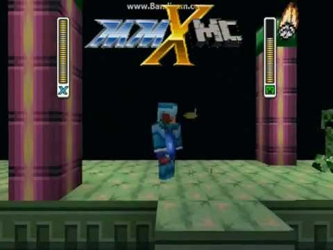 Megaman X Texture Pack! ( Not updated for 1.5 )