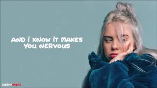 Billie Eilish - Come Out And Play ( Lyrics Video )