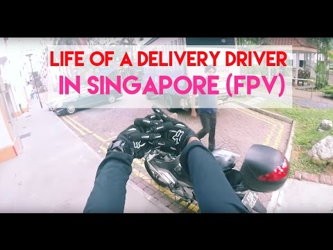 Life Of A Singaporean Delivery Driver - FPV: Episode 1