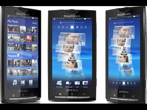 Sony Ericsson Xperia X10 Hard Reset and Forgot Password Recovery. Factory Reset