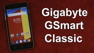 Распаковка Gigabyte GSmart Classic